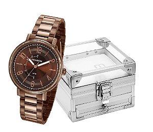 Relógio Mondaine Feminino 53677LPMVME2K2 + Porta Jóia