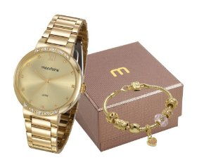 Relógio Mondaine Feminino 99297LPMGDE1K1 com pulseira