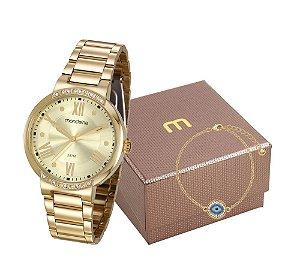 Relógio Mondaine Feminino 99298LPMGDE2K1 com pulseira