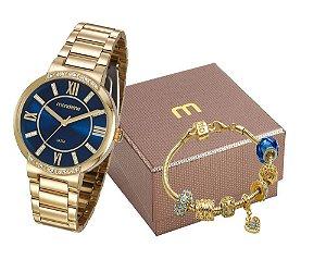 Relógio Mondaine Feminino 99300LPMGDE2K1 com pulseira