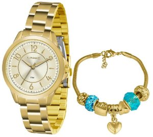 Relógio Lince Urban Feminino LRG4504L KU49C2KX + Pulseira