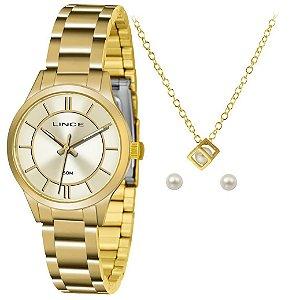 Relógio Lince Urban Feminino LRGH072L KU33C1KX + Colar e Brincos
