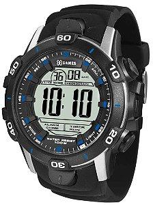 Relógio X-Games Masculino XMPPD457 BXPX