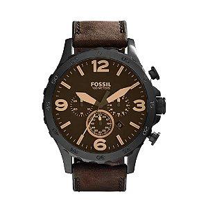 Relógio Fossil Masculino Nate JR1487/0MN