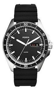 Relógio Fossil Sport 54 3H Day Date Masculino FS5290/8PN