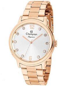 Relógio Champion Feminino Elegance CN28437Z Rosê