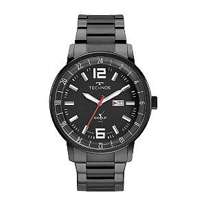Relógio Technos Masculino Classic Golf 2115MWC/1P