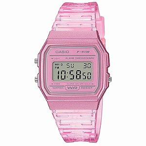 Relógio Casio Feminino Standard F-91WS-4DF