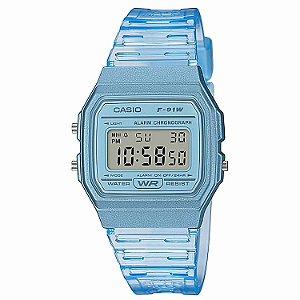 Relógio Casio Feminino Standard F-91WS-2DF