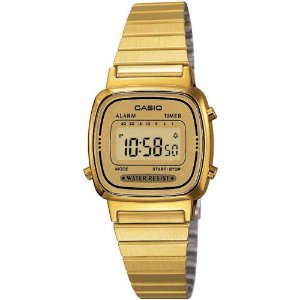 Relógio Casio Feminino Vintage LA670WGA-9DF