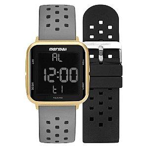 Relógio Mormaii Lab Digi MO6600AI/T8A troca pulseira