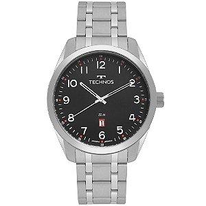 Relógio Technos Masculino Classic Steel 2115MSAS/1P