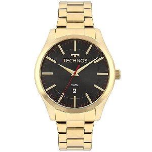Relógio Technos Masculino Classic Steel 2115MMKS/4P