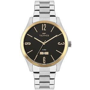 Relógio Technos Masculino Classic Steel 2115MNVS/1P
