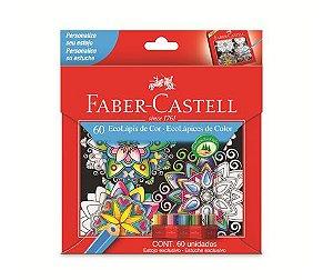 Lápis de Cor Ecológico Caixa com 60 cores - Faber Castell