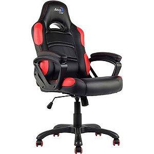 Cadeira Gamer preta e vermelha AC80C Aerocool