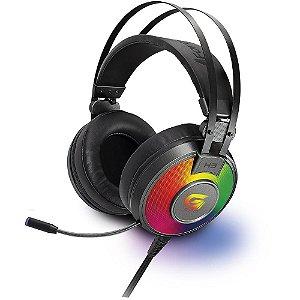 Fone de ouvido Gamer Fortrek G Pro 7.1 H3 usb RGB