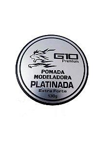 Pomada Modeladora de Cabelos Profissional Platinada G10