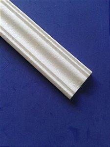1 metro Rodameio ou Guarnição de Isopor Modelo 13 com 9cm 2peças 0,50cm Moldutec