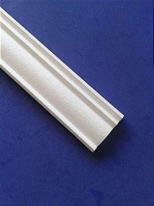 1 metro Rodameio ou Guarnição de Isopor Modelo 15 com 9cm 2peças 0,50cm Moldutec