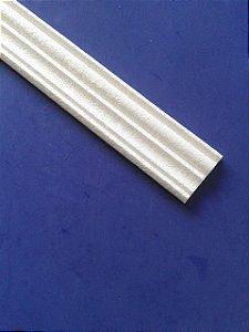 Rodameio ou Guarnição de Isopor Modelo 16  -  2peças 0,50cm Moldutec