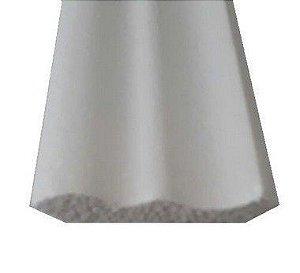 1 metro Moldura Rodateto Sanca de Isopor Modelo 01  2peças 0,50cm Moldutec