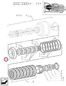 PISTAO EMBREAGEM 5171202