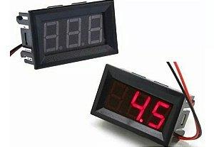Voltímetro Digital Medidor Bateria Som