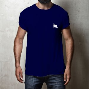 815b9bb8f4 Camiseta masculina Lobo Branco Vip Classic