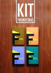 KIT FRONTEIRAS - SÉRIE PENSAR (4 livros)