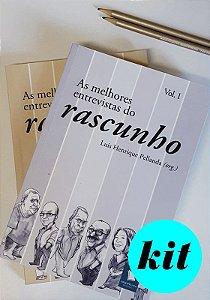 KIT AS MELHORES ENTREVISTAS DO RASCUNHO (2 VOLUMES)