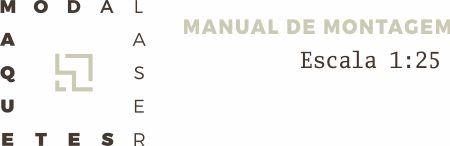 Manual de montagem escala 1:25