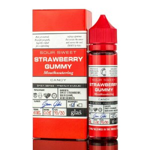 Juice Strawberry Gummy    60ML/0MG - GLAS