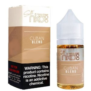 Juice Salt Cuban Blend 30ML/35MG - Naked