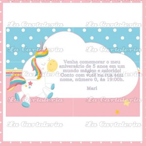 Arte Digital Personalizada Dream Friends - Convite
