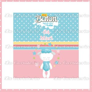 Arte Digital Personalizada Dream Friends - Chocolate Baton