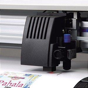 Corte computadorizado de vinil adesivo semi-brilho