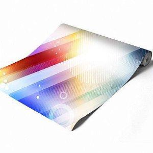 Vinil adesivo fosco impressão digital