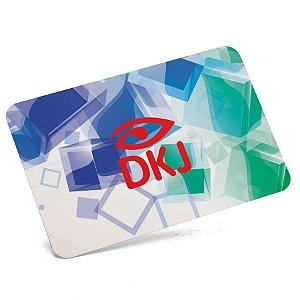 Cartão de visita 4x0 cores em papel cartão 300 g/m² com verniz UV total cantos arredondados