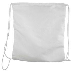 Saco mochila para sublimação - Branco
