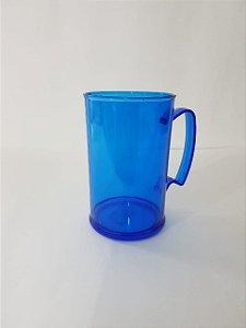 Caneca de chopp acrílico 400 ml - Colorida