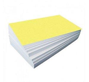 Papel amarelo 75 g - Pacote com 100 folhas