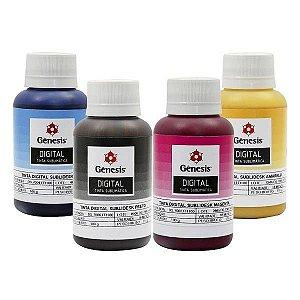 Conjunto de tintas 4 cores - Genêsis