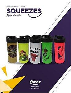 Squeeze de polimero  Premium SFCT Resitec para sublimação - Colorido