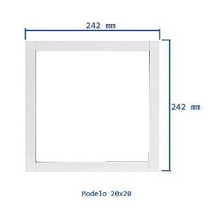 Moldura Azulejo 20x20 - Madeira - Color