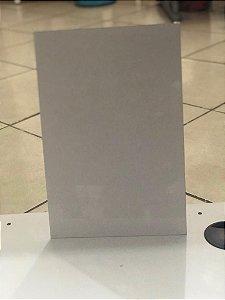 Placa de Metal - Branca