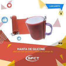 Manta de silicone SFCT para sublimação em canecas