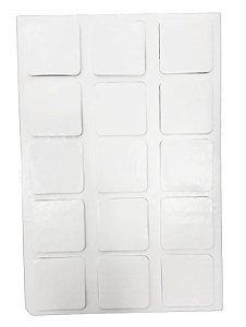 Ladrilho adesivo quadrado pet 5x5 c/15un