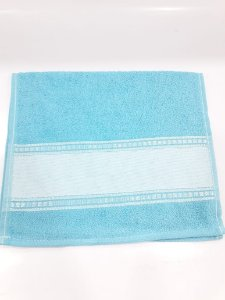 Toalha lavabo brutextil - azul claro