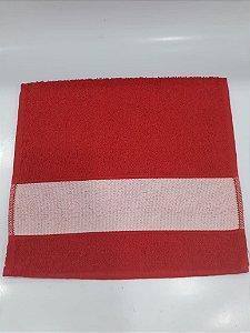 Toalha lavabinho engotex - vermelha